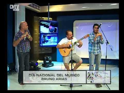 Bruno Arias video Ave de luz - Estudio CM 2015