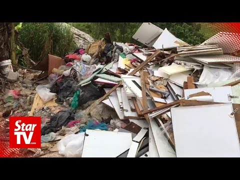 More waste dumping within 5km of  Sg Kim Kim found