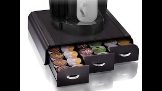 """Review: Mind Reader """"Anchor"""" Coffee Pod Storage Drawer for 36 Keurig K-Cup, 42 CBTL/Verismo"""