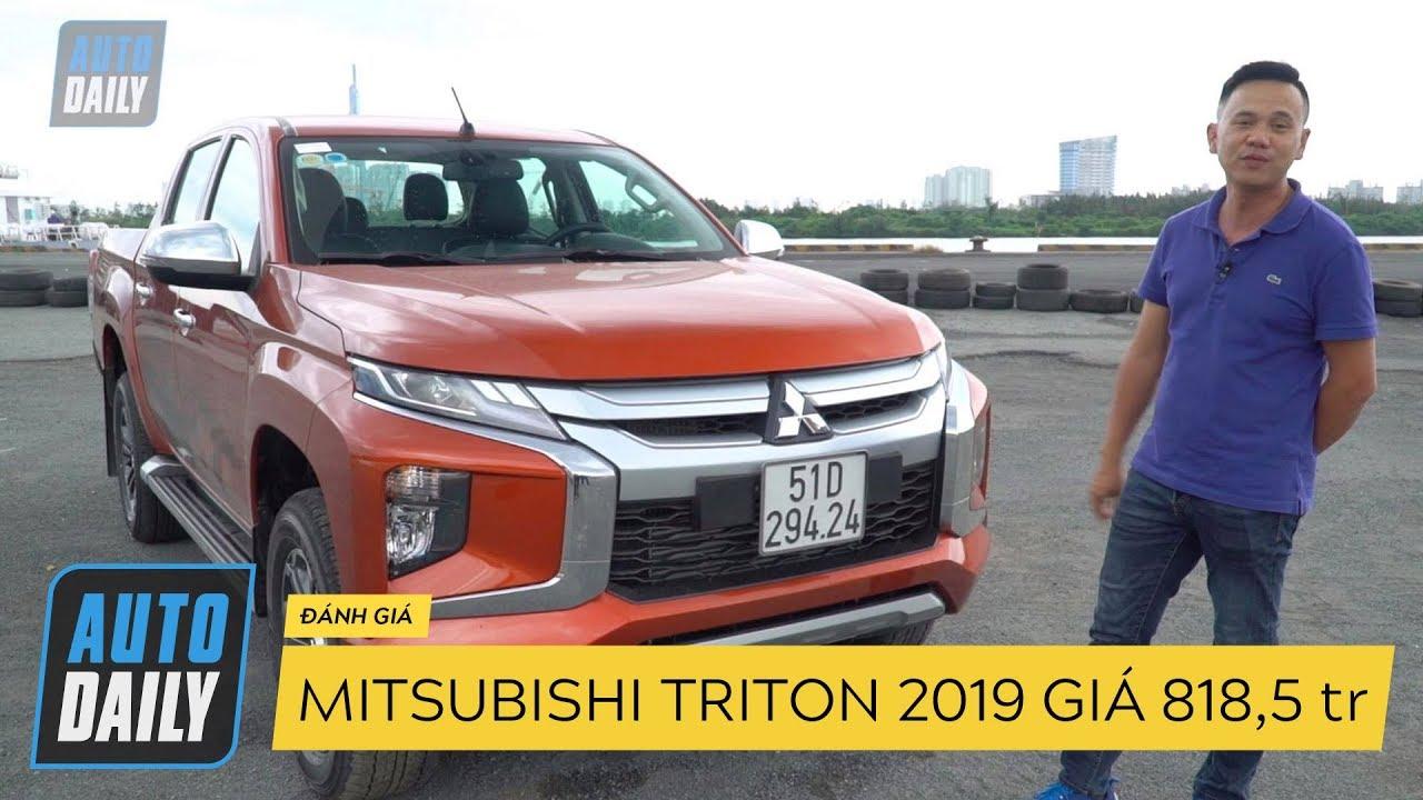 Đánh giá Mitsubishi Triton bản cao nhất giá 818,5 triệu, quyết đấu Ford Ranger