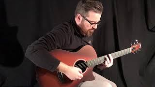 Rainsong Al Petteway Special Edition Guitar at Guitar Gallery