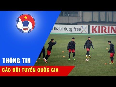 ĐT U23 Việt Nam làm quen sân Changshu Sports, lạc quan hướng tới trận đấu với U23 Syria