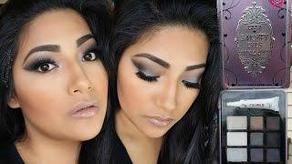 NEW Hard Candy SMOKEY EYES Smokey Eyeshadow Palette FIRST IMPRESSIONS + Makeup Tutorial + Swatches