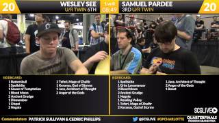 Grand Prix Charlotte 2015 Quarterfinals (Part 1)
