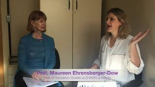 15 – Interview with Prof. Maureen Ehrensberger-Dow