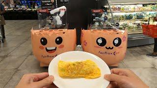 Food Machines in Supermarket