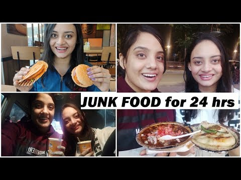 We ate only JUNK FOOD for 24 hours | FINAL
