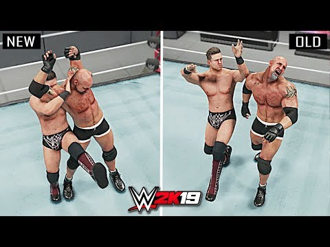 WWE 2K19 Top 10 New Finishers vs Old Finishers!! Part 2