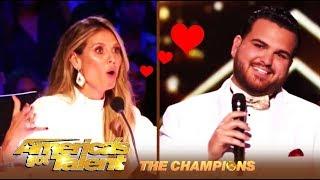 Sal Valentinetti & Heidi Klum: A LOVE Fest!   America's Got Talent: Champions