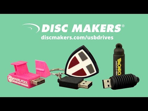 Unique Custom Designed USB Flash Drives from Disc Makers