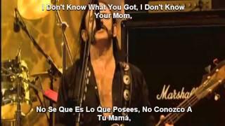 Motörhead   Life's A Bitch [Lyrics Y Subtitulado Al Español]