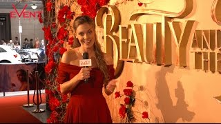 Disney's Beauty and the Beast - Australian premiere red carpet interviews