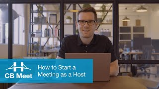 How to Host a Meeting with CB Meet