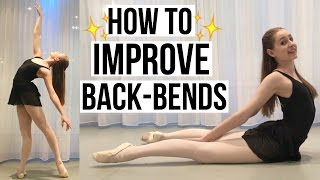 HOW TO - Improve your back-bend | Talia