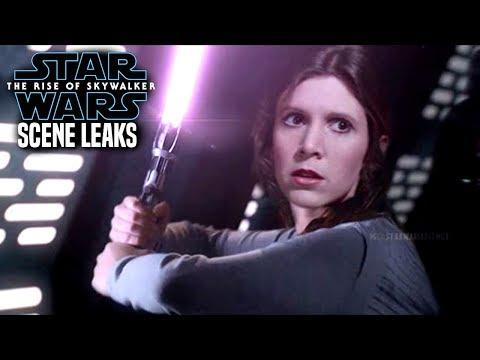 The Rise Of Skywalker Scene Leaks! WARNING (Star Wars Episode 9)