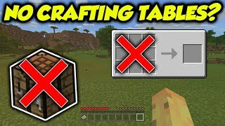 TESTED: Is It Possible To Beat Minecraft Without Crafting Tables?