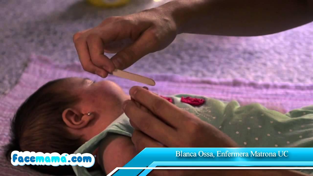 Limado de uñas del bebé