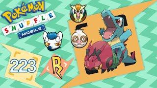 Venipede  - (Pokémon) - Pokémon Shuffle Mobile - Totodile, Venipede, Slakoth, etc [431 - 435]