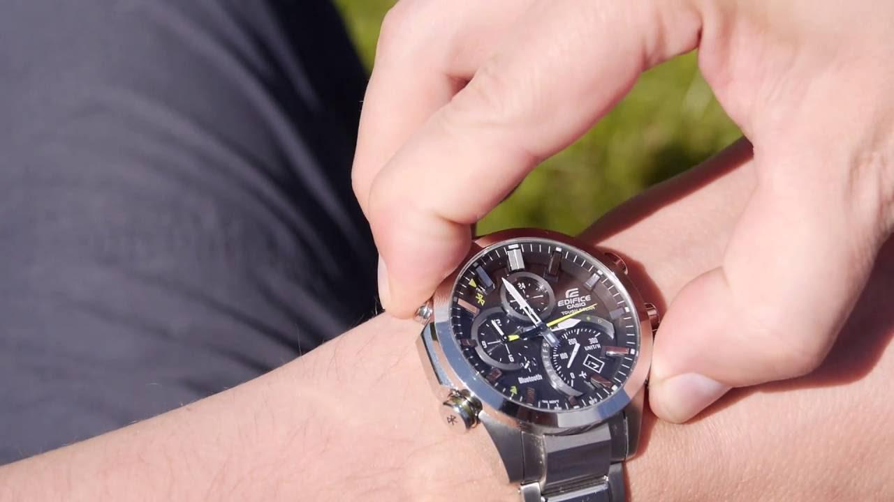 Видео Часы Casio Edifice