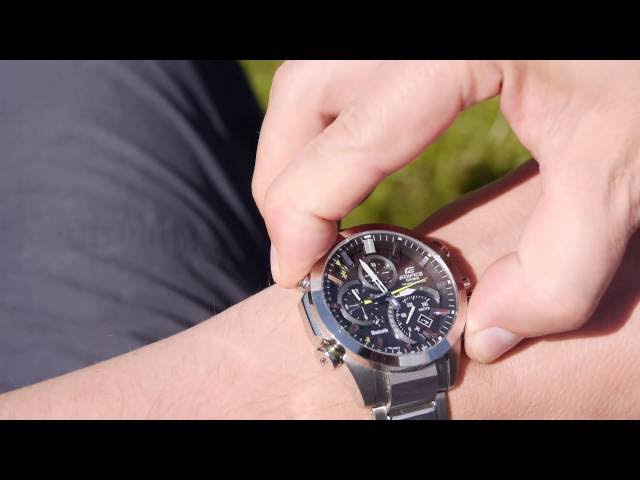 Видео Часы Casio Edifice