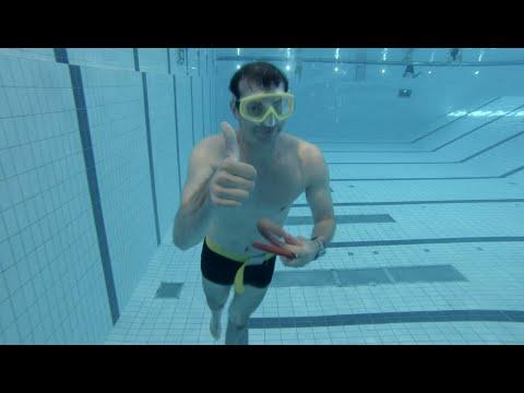 How to do a 50 meter underwater swim (Olympic pool dynamic apnea)