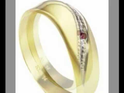 Goldmaid Damen-Ring Bicolor Gold 333 1 RubinLinie Gr. 50 Pr R797GG50