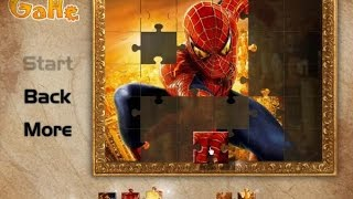 Spiderman Jigsaw Puzzle - Super Heroes Games 4 Kids