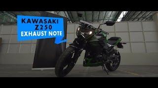 Kawasaki Z250: Stock Exhaust Note: PowerDrift