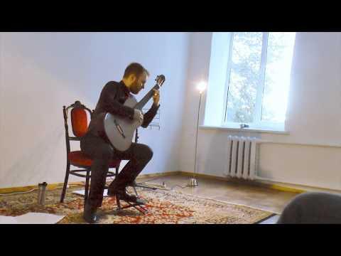 Marko Topchii plays Roland Dyens - Libra Sonatine