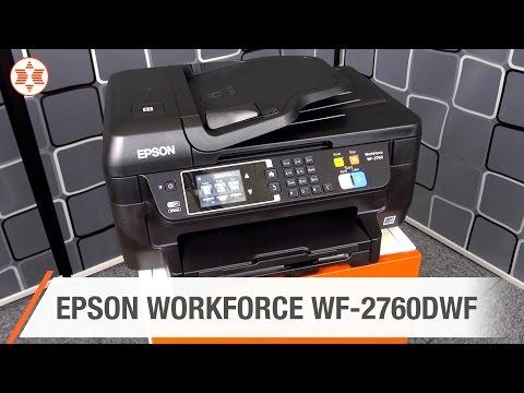 EPSON WORKFORCE WF-2760DWF inkl. XXL-Patrone - Jubiläums-Angebot der Woche