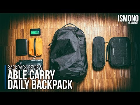 The Perfect Everydaycarry Backpack? Able Carry Daily BACKPACK REVIEW