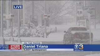 New Jersey DOT Spokesperson Daniel Triana On Latest Storm