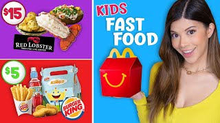 Tasting Fast Food for Kids so you don't have to