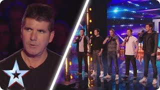 Simon rolled his eyes at this unique boyband | Britain's Got Talent Unforgettable Audition