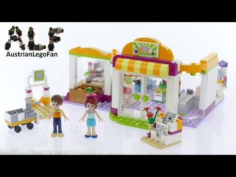 Vidéo LEGO Friends 41118 : Le supermarché d'Heartlake City