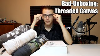Bad Unboxing - Threaded Canvas (Tshirt Box) Feat. Hip-Hop Rick Grimes