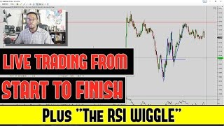 Live FOREX TRADING From Start to Finish