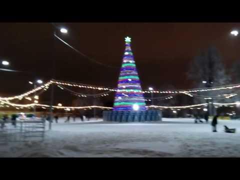 Казань зимой.Прогулка. Замечательный город! Январь 2017