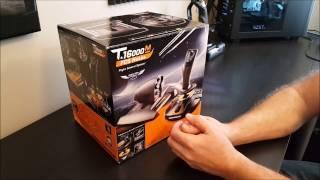 Thrustmaster T.16000m FCS HOTAS and X52 Pro Comparison