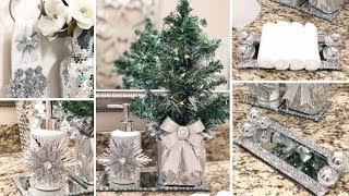 4 CHRISTMAS DOLLAR TREE DIYS | Glam Bathroom Decor Ideas 2018 | Kholo.pk