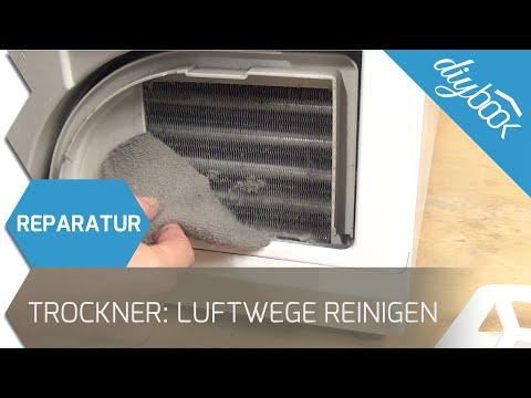 Miele Trockner - Luftwege reinigen