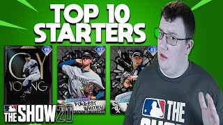 Top 10 Starting Pitchers MLB The Show 20 Diamond Dynasty
