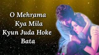 Mehrama Lyrics | Love Aaj Kal | Darshan Raval   - YouTube