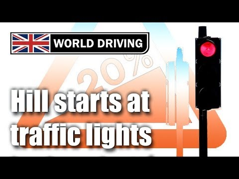 Hill starts at traffic lights – how to hill start perfectly