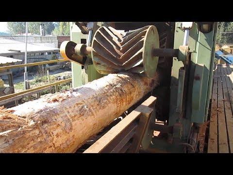 Amazing Automatic Wood Sawmill Machines Modern Technology - EXTREME Fast Wood Cutting Machine