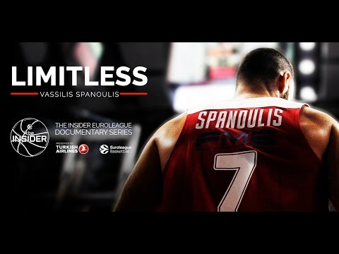 """Video Replay: The Insider EuroLeague Documentary: """"Limitless: Vassilis Spanoulis"""""""
