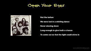 The Doobie Brothers - Open Your Eyes Lyrics
