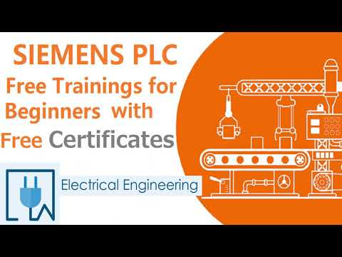 SIEMENS PLC Free Training with Free Certificates| SIEMENS FREE COURSE |FREE PLC CERTIFICATION COURSE