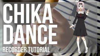 Kei Shirogane  - (Kaguya sama: Love Is War) - How to play Chika Dance (Kaguya sama) by Kei Haneoka on Recorder (Tutorial)
