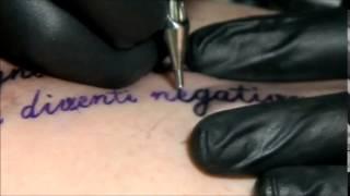 Giovanni Tattoo Patras Letters Tattoo